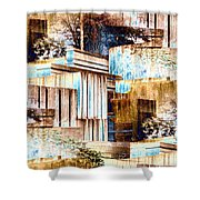 Freeway Park Shower Curtain