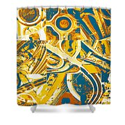 Freeway Variations Shower Curtain