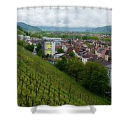 Freiburg Wine Sloop Shower Curtain