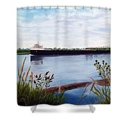 Freighter Shower Curtain
