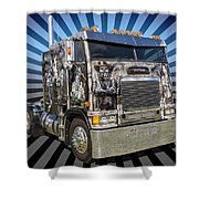 Freightliner Shower Curtain