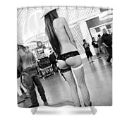 Fremont Cowgirl Shower Curtain