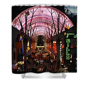 Fremont Street Shower Curtain