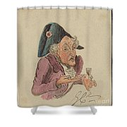 French Brandy Shower Curtain