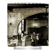 French Country Restaurant 2 Shower Curtain