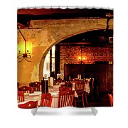 French Country Restaurant Shower Curtain
