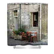 French Countryside Corner Shower Curtain