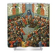French Court, 1458 Shower Curtain