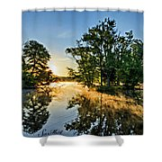 French Creek 17-029 Shower Curtain