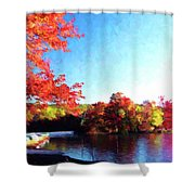 French Creek Fall 94-020 Shower Curtain