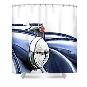 French Curves Shower Curtain