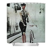 French District Shower Curtain