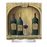 French Estate Wine Collection Shower Curtain