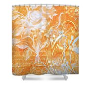 French Floral 2 Shower Curtain