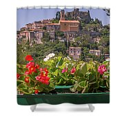 French Flowers Shower Curtain