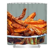 French Fries On The Boards Shower Curtain