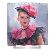 French Girl Shower Curtain