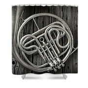 French Horn 2 Shower Curtain