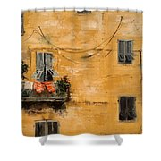 French Laundry Shower Curtain