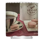 French Macarons 2 Shower Curtain