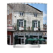 French Market Cafe Shower Curtain