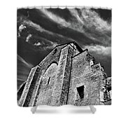 French Middle Age Kisses The Dark Sky Shower Curtain