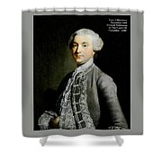 French Nobleman At The Court Of Versailles -1788 V A  Shower Curtain