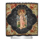 French Perfume-jp3737 Shower Curtain