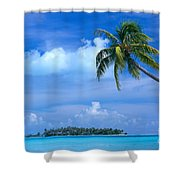 French Polynesia, Bora Bo Shower Curtain