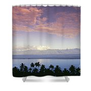 French Polynesia, Papeete Shower Curtain