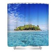 French Polynesian Island Shower Curtain