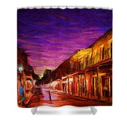 French Quarter 1 Shower Curtain