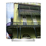 French Quarter 11 Shower Curtain