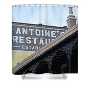French Quarter 12 Shower Curtain