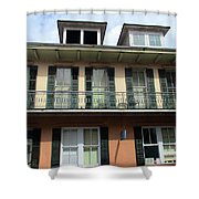 French Quarter 19 Shower Curtain