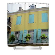 French Quarter 20 Shower Curtain
