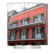 French Quarter 21 Shower Curtain