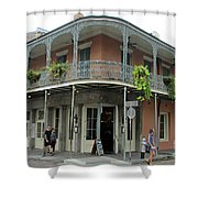 French Quarter 3 Shower Curtain