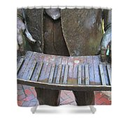 French Quarter 34 Shower Curtain