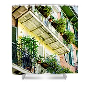 French Quarter Balconies - Nola Shower Curtain