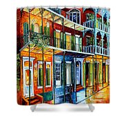 French Quarter Charm Shower Curtain