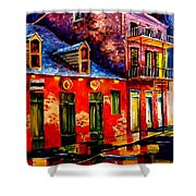 French Quarter Dazzle Shower Curtain
