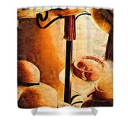 French Quarter Hats Shower Curtain