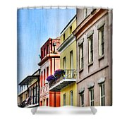 French Quarter In Summer Shower Curtain