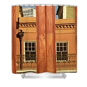 French Quarter Reflection Shower Curtain