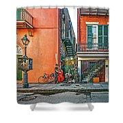 French Quarter Trio Shower Curtain