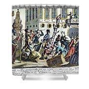 French Revolution, 1789 Shower Curtain