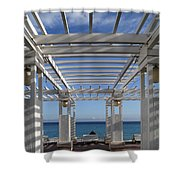 French Riviera 1 Shower Curtain