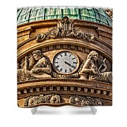 French Time Shower Curtain