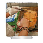 French Toast Shower Curtain